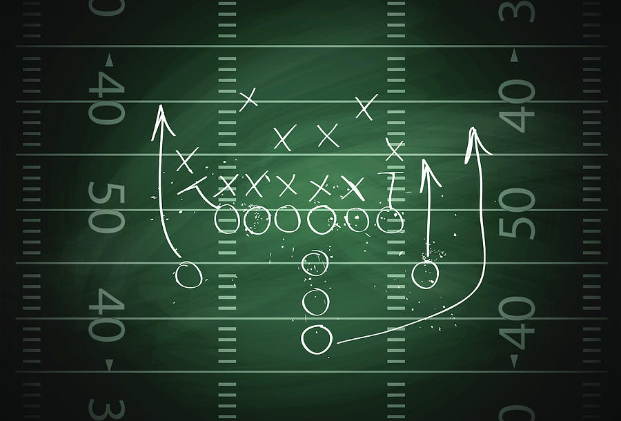 Football Play Digital Art by Traffic analyzer