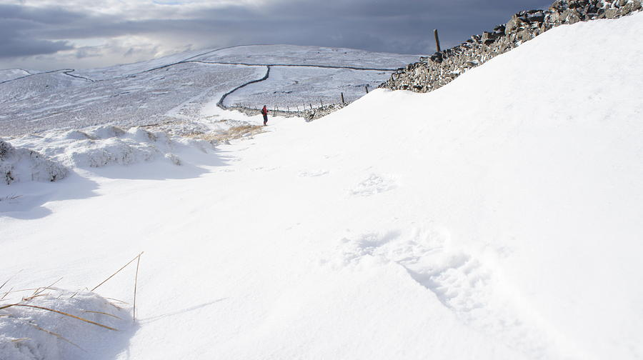 Landscape Photograph - Footprint by Riley Handforth