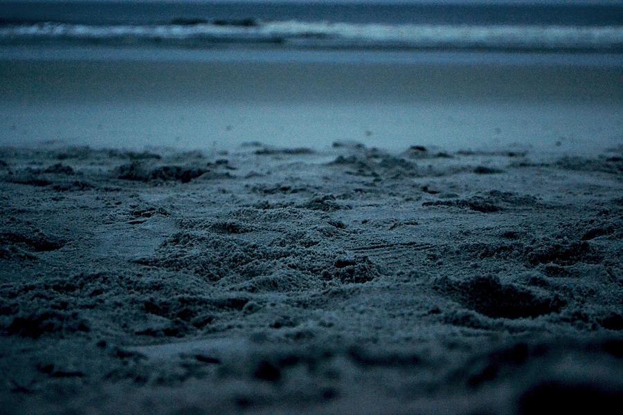 Beach Photograph - Footprints by Victoria Clark