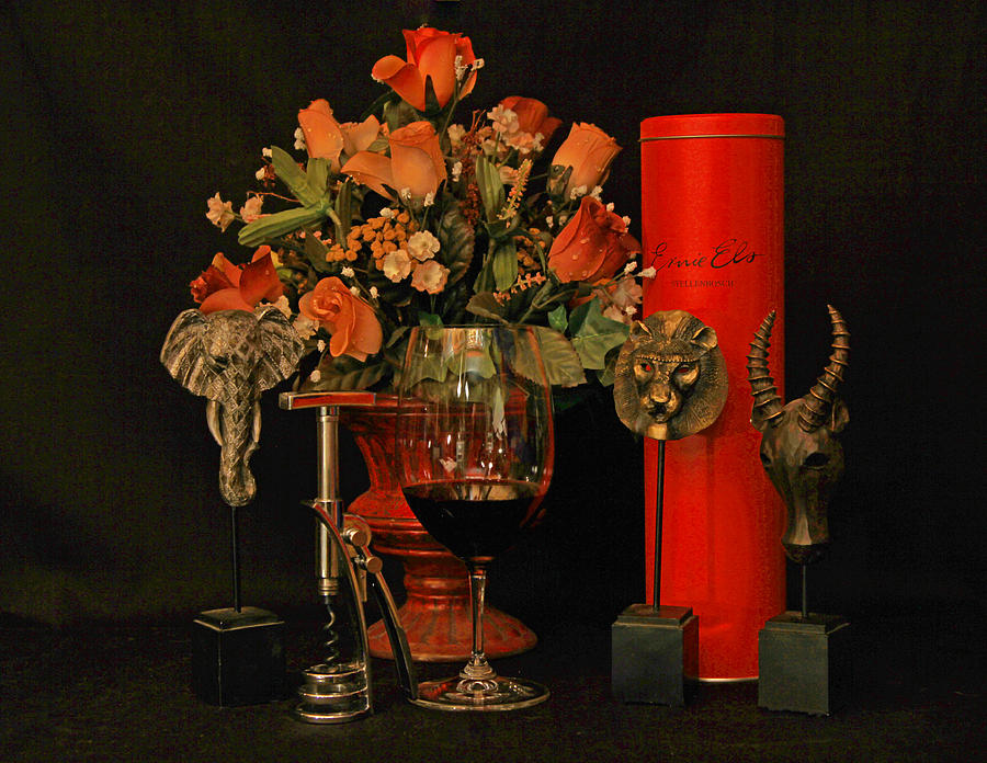 Wine Photograph - For A Special Occasion by John Stuart Webbstock