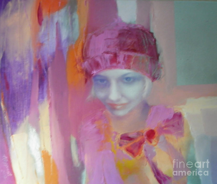 Woman Painting - For Anna by Anna Zygmunt