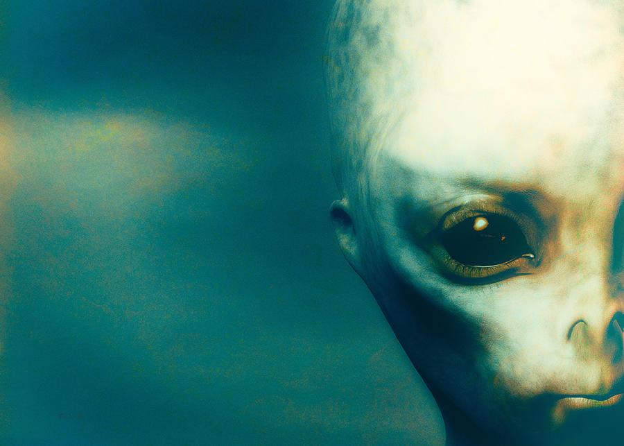 Alien Abduction Digital Art - For Betty And Barney Hill by Bob Orsillo