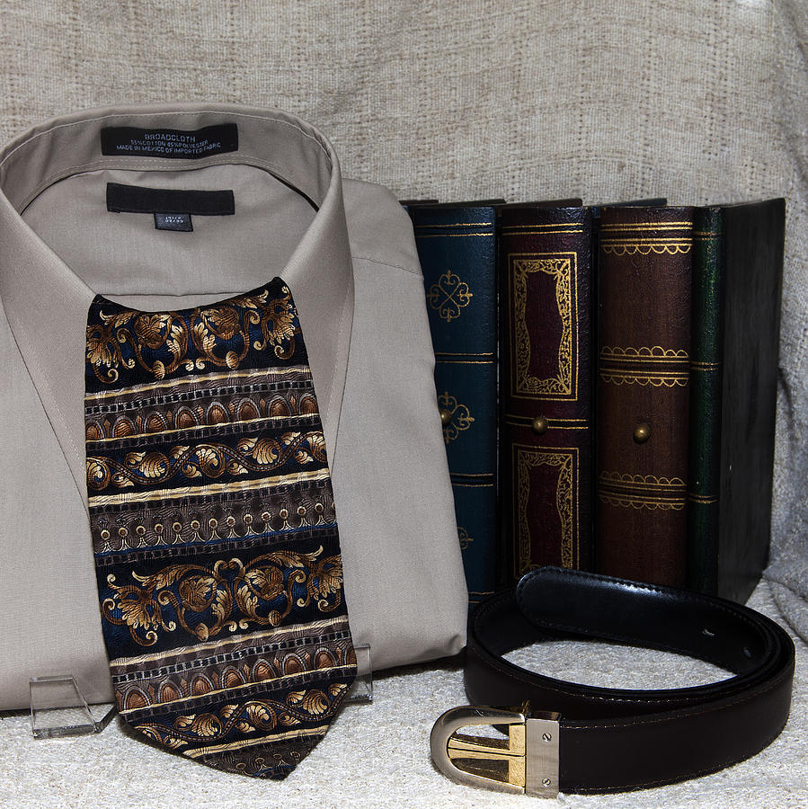Tie Photograph - For Dad by Cecil Fuselier