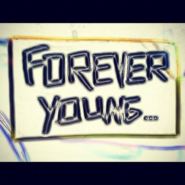 Young Photograph - For ever young by Dvon Medrano