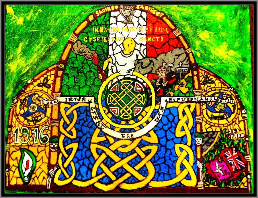 Irish Painting - For The Families Of Irish Pows by Brett Genda