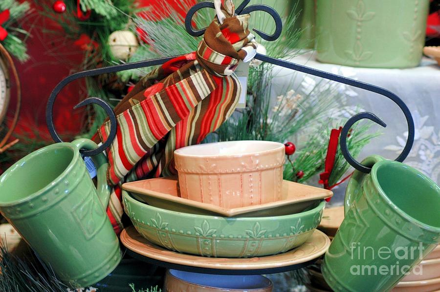 Green Photograph - For The Kitchen by Kathleen Struckle