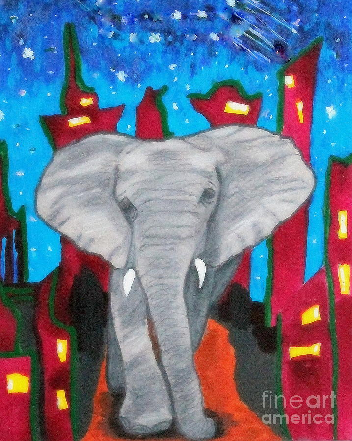 For the Love of Elephants by Patsy Gunn