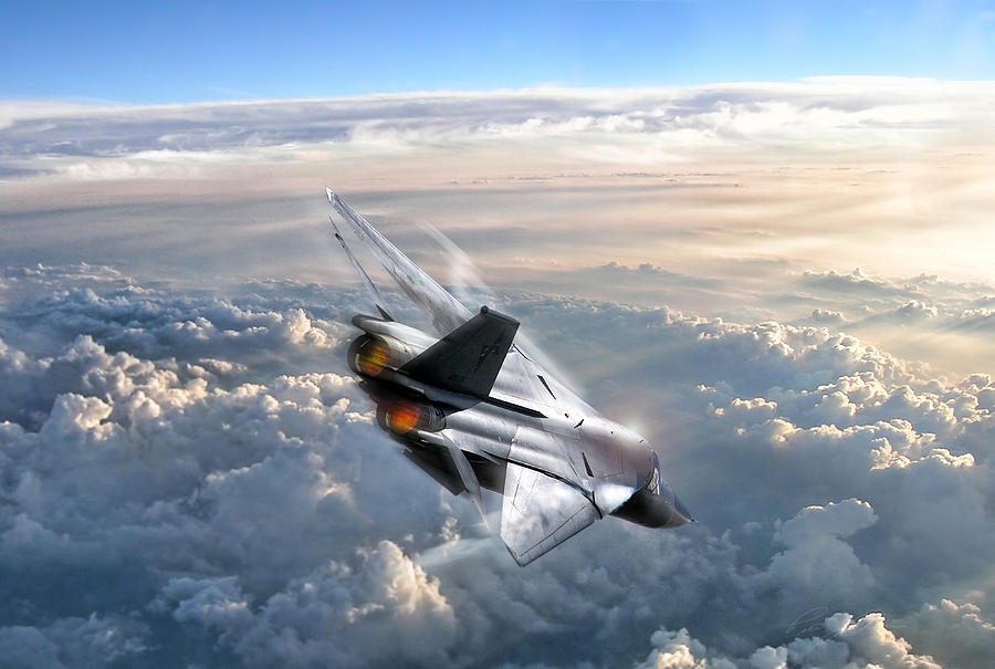 General Dynamics Digital Art - For Those About To Rock by Peter Chilelli