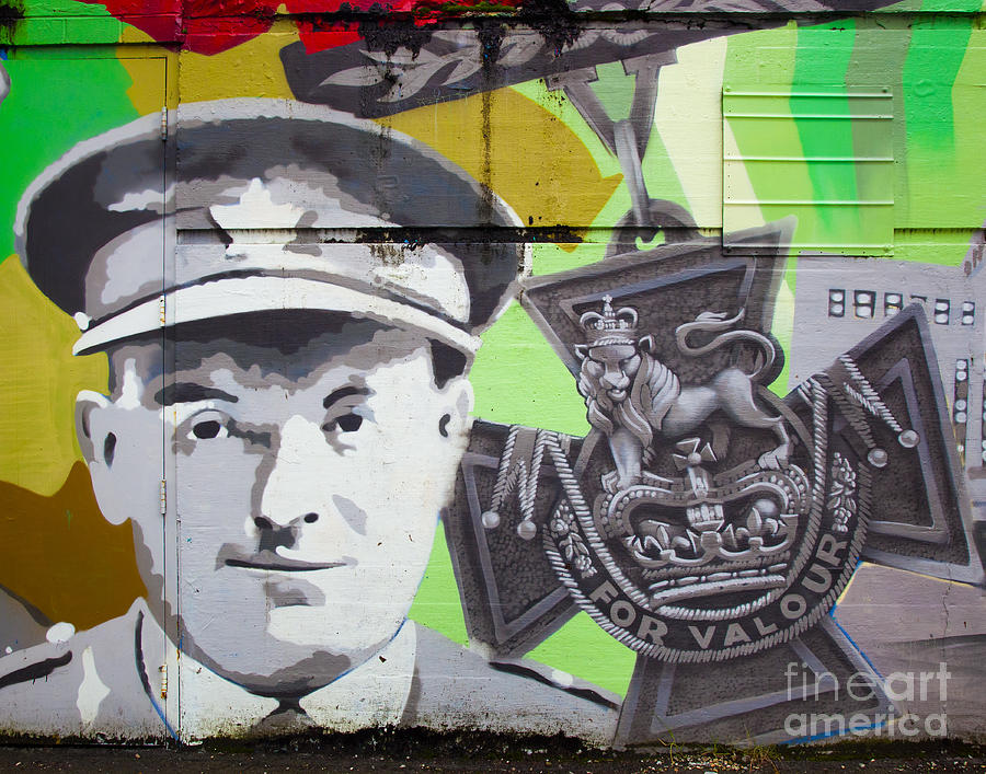 Mural Photograph - For Valour by Chris Dutton