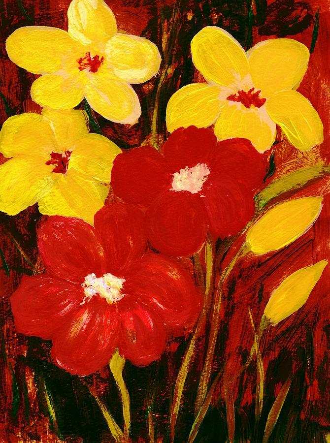 For You Painting - For You by Anastasiya Malakhova