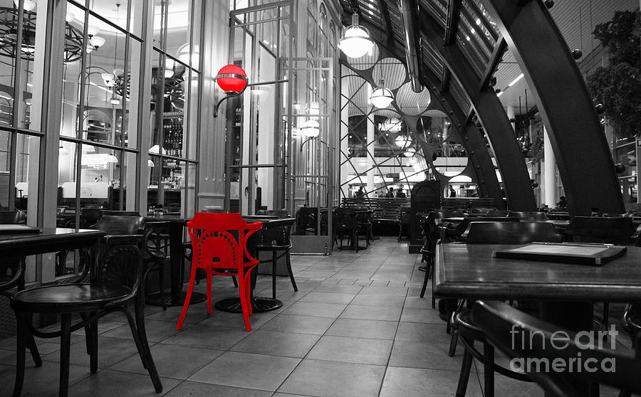 Red Photograph - For You by Four Hands Art