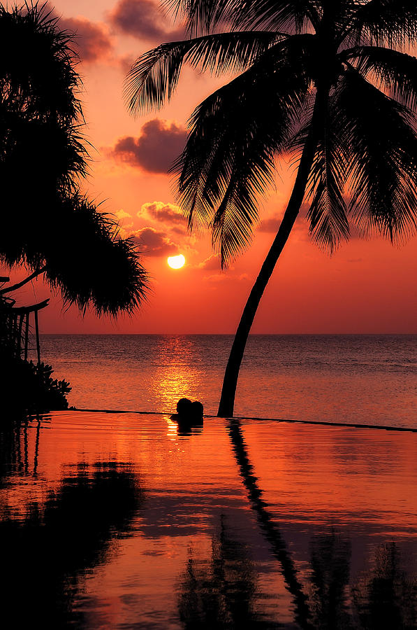 Love Photograph - For You. Dream Coming True I. Maldives by Jenny Rainbow
