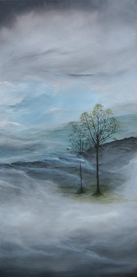 Landscape Painting - For You Son by Tamara Bettencourt