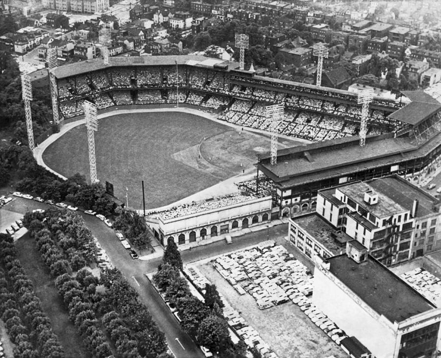 1950s Photograph - Forbes Field In Pittsburgh by Underwood Archives