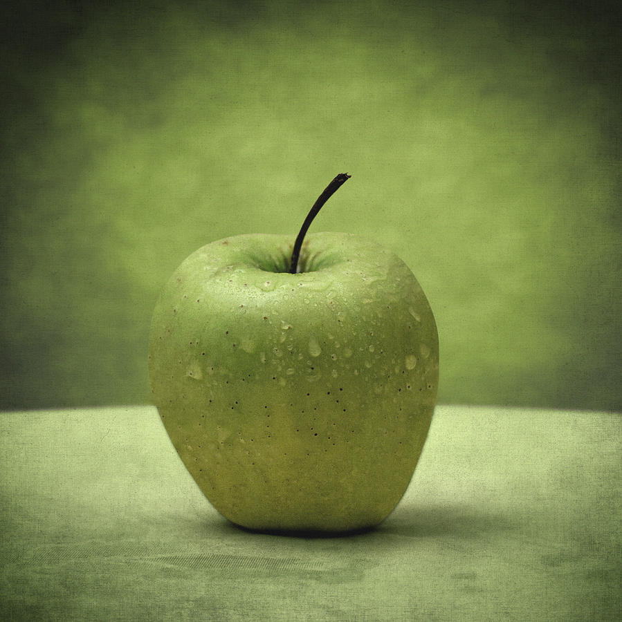 Apples Photograph - Forbidden Fruit by Taylan Apukovska