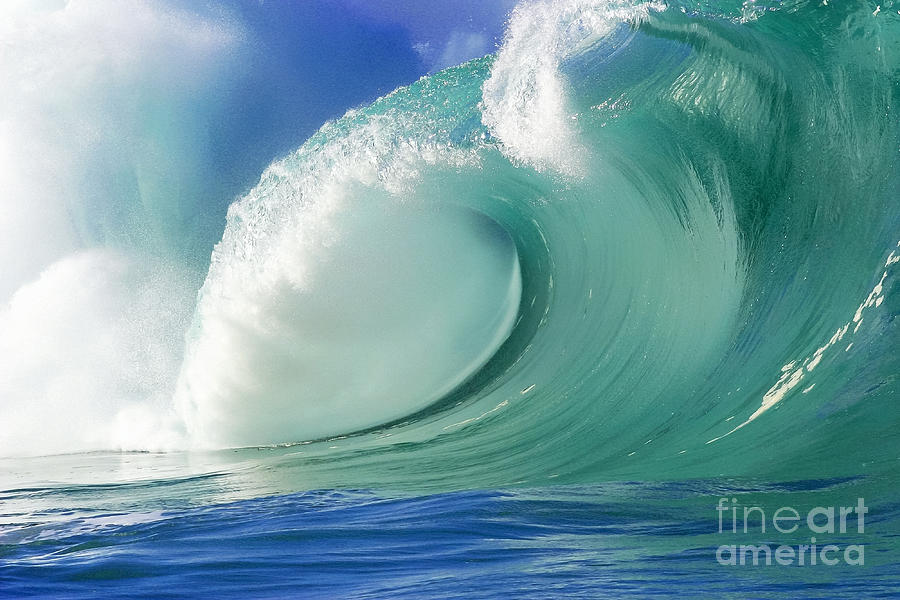 Ocean Photograph - Force Of Nature by Paul Topp