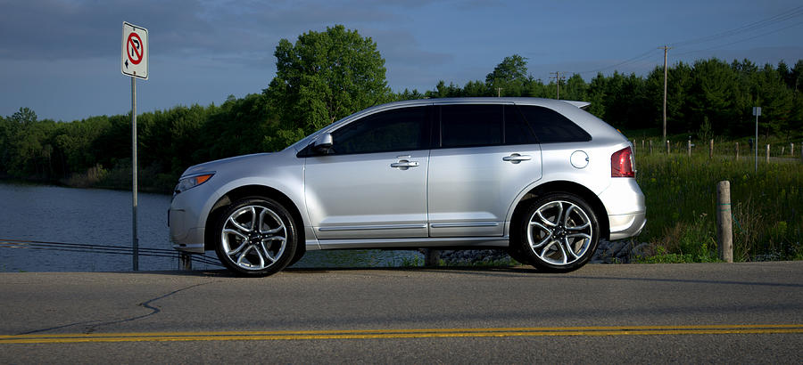 Ford Photograph - Ford Edge Sport by Rob Andrus
