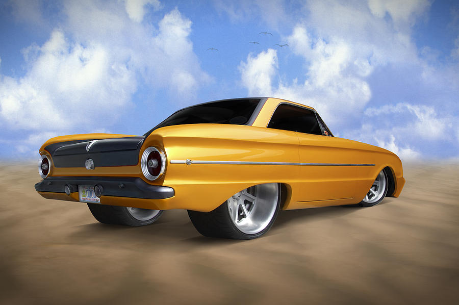 Ford Falcon Photograph - Ford Falcon by Mike McGlothlen