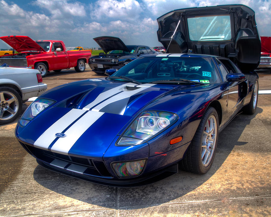 Ford Photograph Ford Gt By Tim Stanley