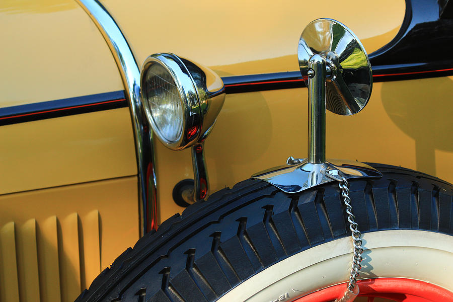 Model A Photograph - Ford Model A by Jim Cotton