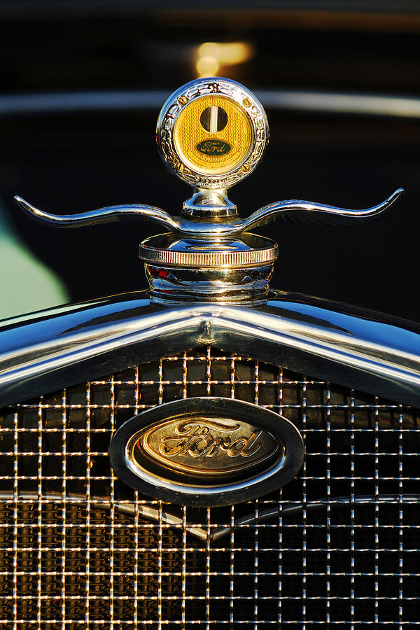 Ford Photograph - Ford Motometer by Jill Reger