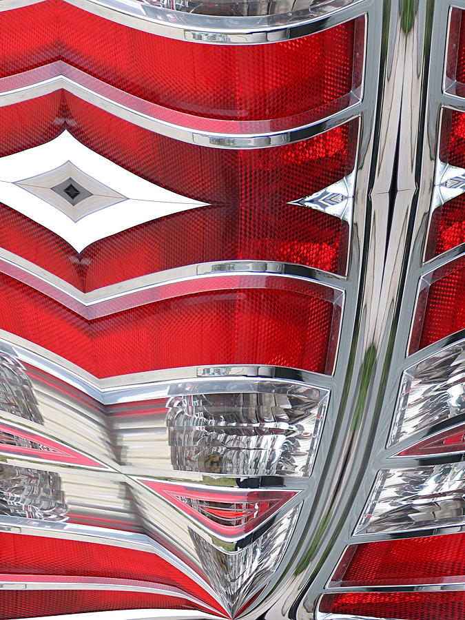 Abstract Photograph - Ford Ninja by Wendy J St Christopher