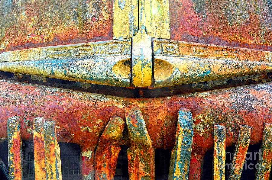 Abstract Photograph - Ford Tough by Lauren Leigh Hunter Fine Art Photography