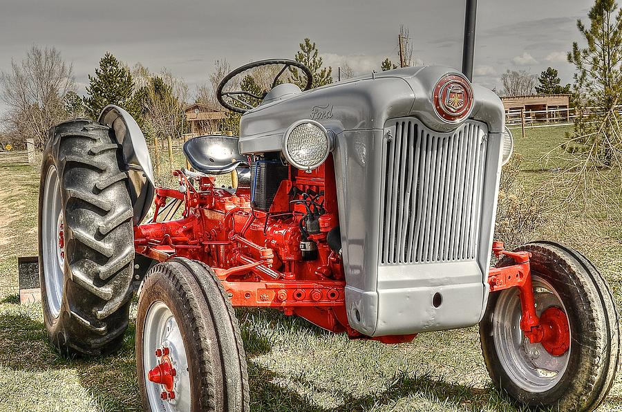 Ford Tractor Photograph by Peter SPAGNUOLO