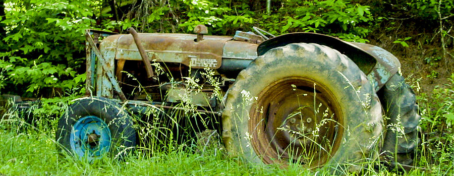 Tractor Photograph - Fordson Major Diesel Two by Robert J Andler