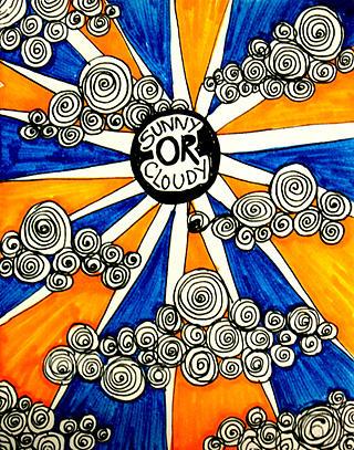 Sunny Mixed Media - Forecast by Shikha N