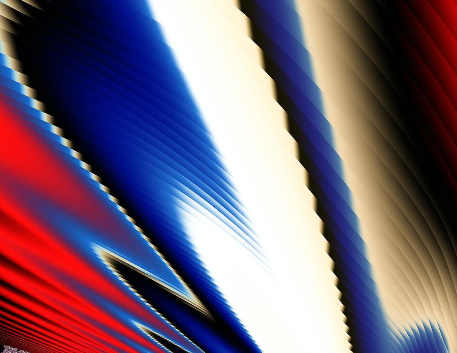 Digital Art - Forehand by Mike Turner