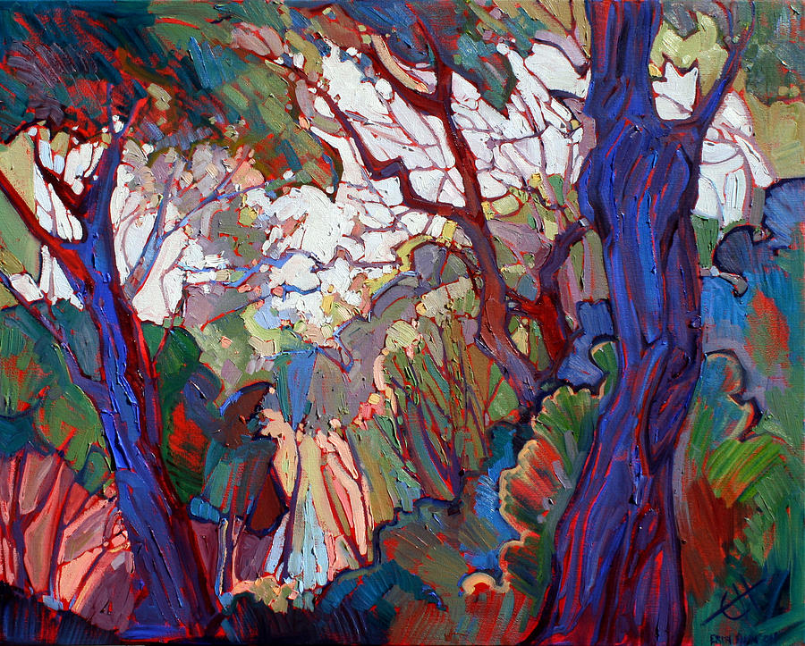 Paso Robles Painting - Forest Deep by Erin Hanson