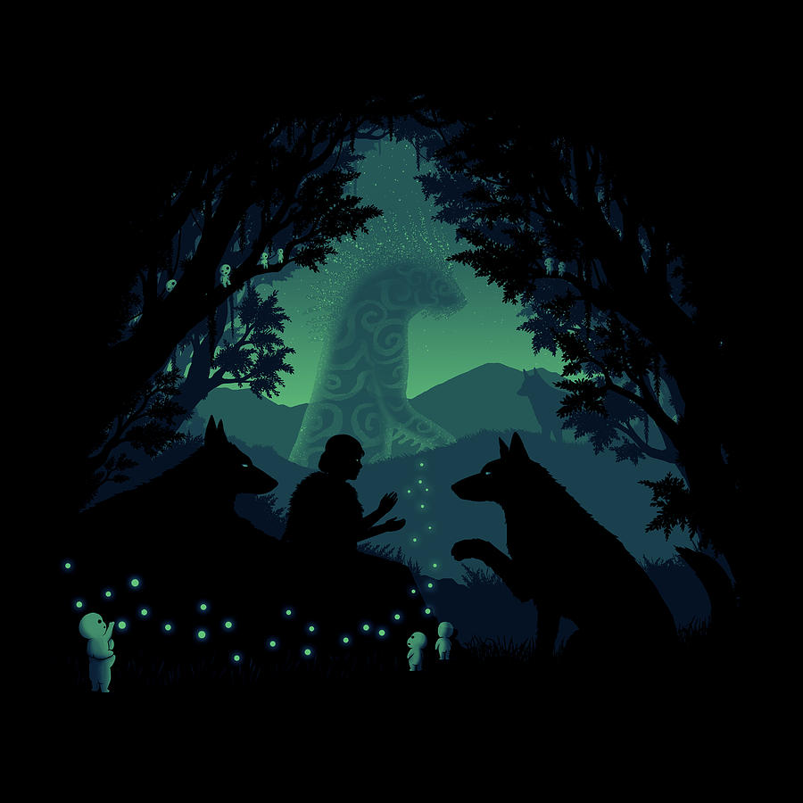 Forest Dwellers Digital Art By Pigboom