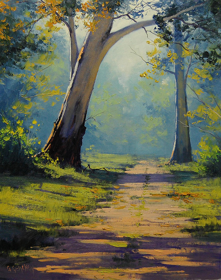Forest Gums Painting