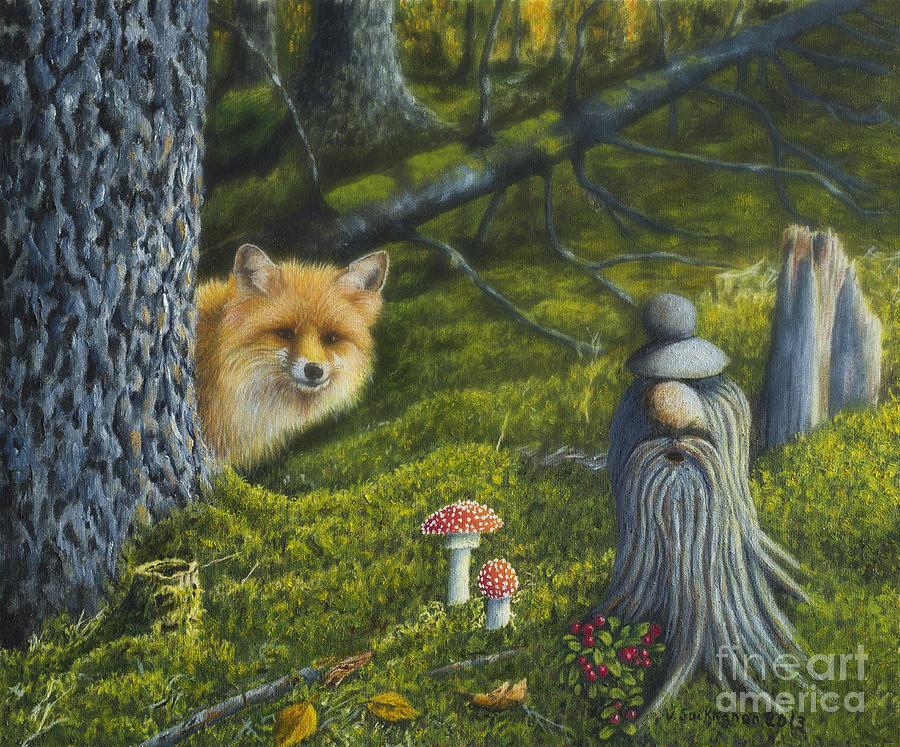 Animal Painting - Forest Life by Veikko Suikkanen