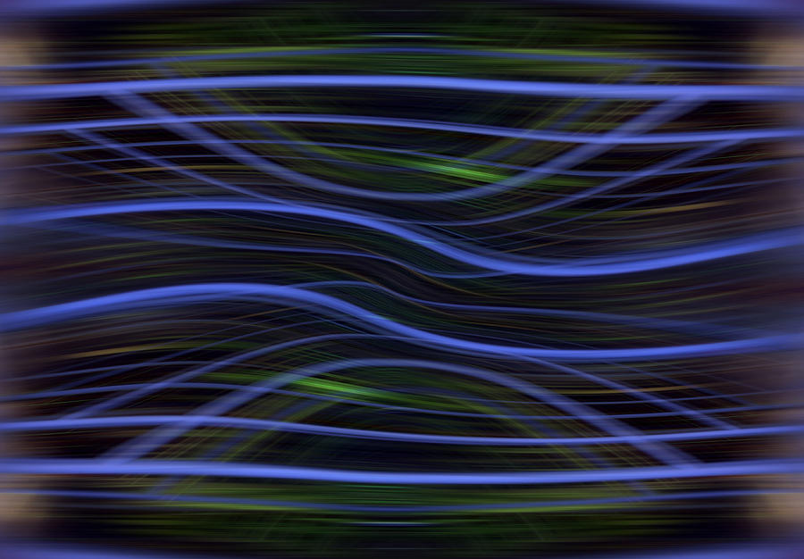 Abstract Digital Art - Forest Light Enhanced by Florin Birjoveanu