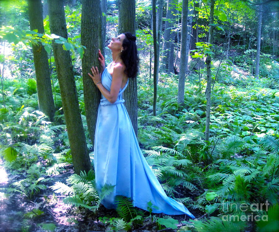 Trees Photograph - Forest Nymph by Shakaya Leone