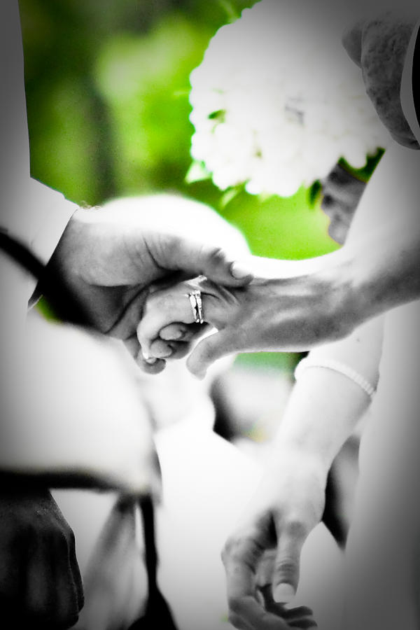 Hands Photograph - Forever by BandC  Photography