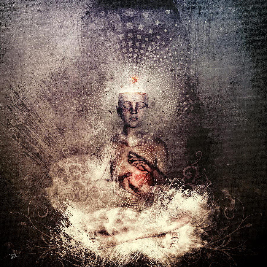 Spiritual Digital Art - Forever Can Be by Cameron Gray