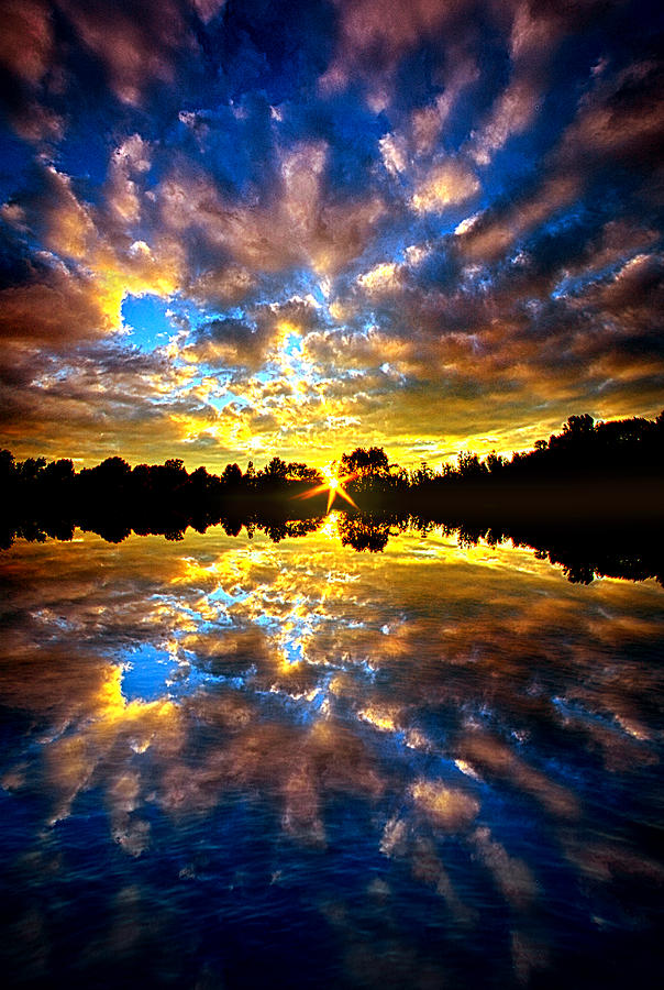 Reflection Photograph - Forever Dreaming by Phil Koch