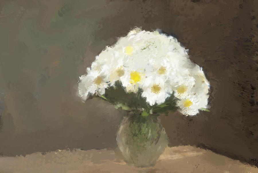 Flower Mixed Media - Forever Flowers by Karen Sperling