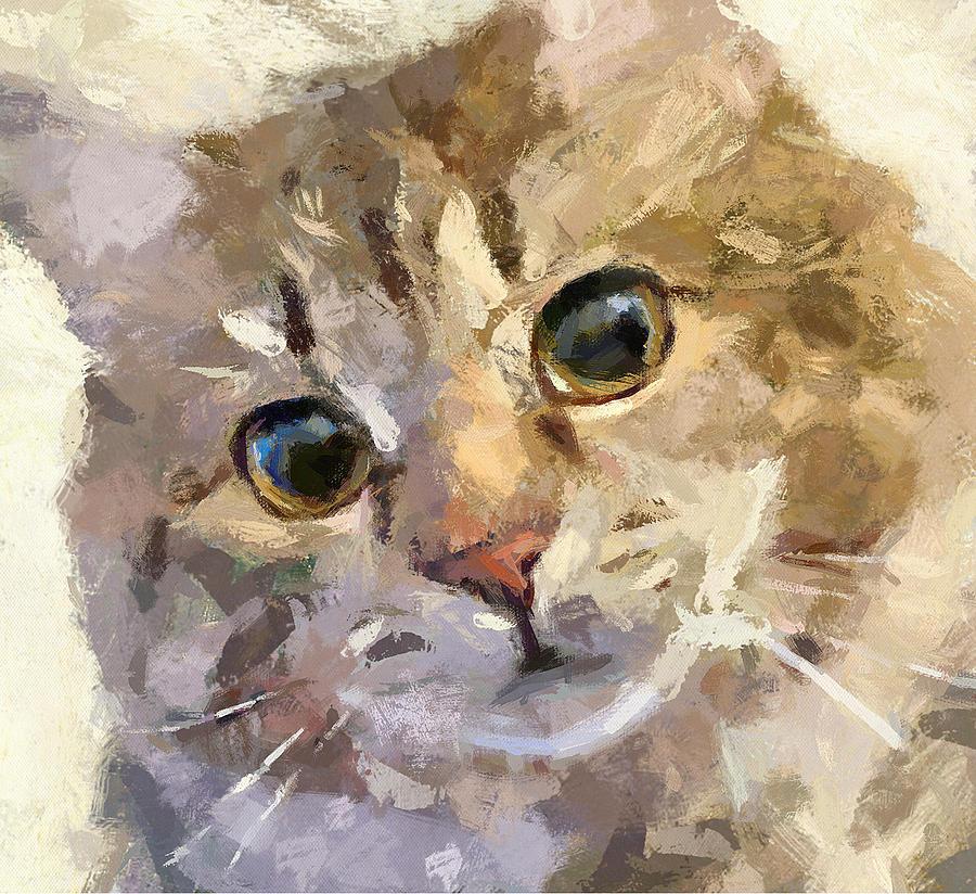 Cat Digital Art - Forever Friends by Yury Malkov