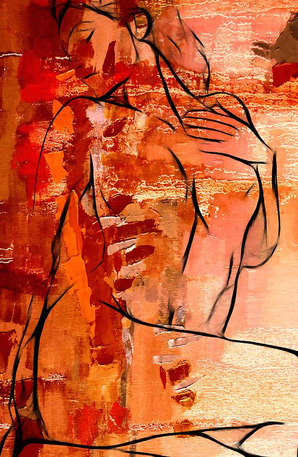 Forever In Love Painting by Steve K