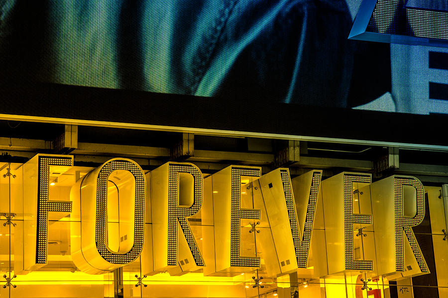 Forever Photograph - Forever by Karol Livote