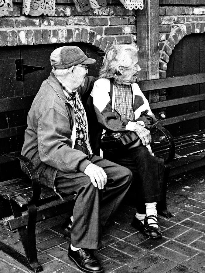 Couple Photograph - Forever Young by Andrew Raby