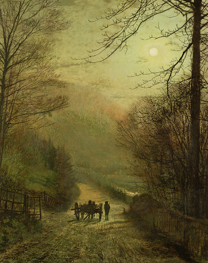 Grimshaw Painting - Forge Valley, Scarborough by John Atkinson Grimshaw