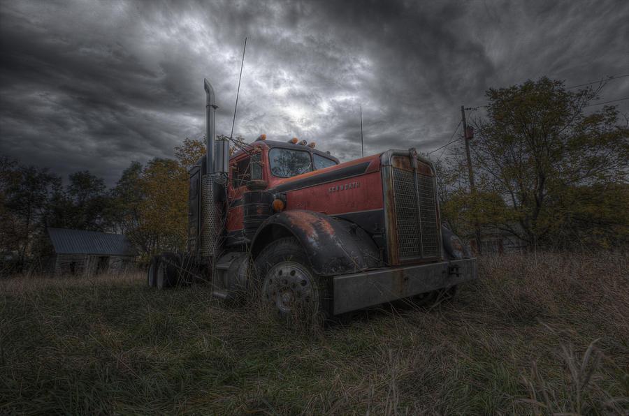 Forgotten Photograph - Forgotten Big Rig 2014 by Aaron J Groen