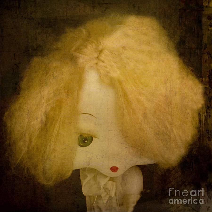 Toy Photograph - Forgotten Doll by Victoria Herrera