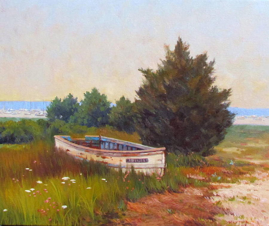 Dory Painting - Forgotten Dory by Dianne Panarelli Miller