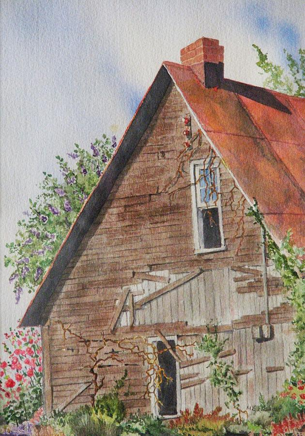Farm Painting - Forgotten Dreams Of Old by Mary Ellen Mueller Legault